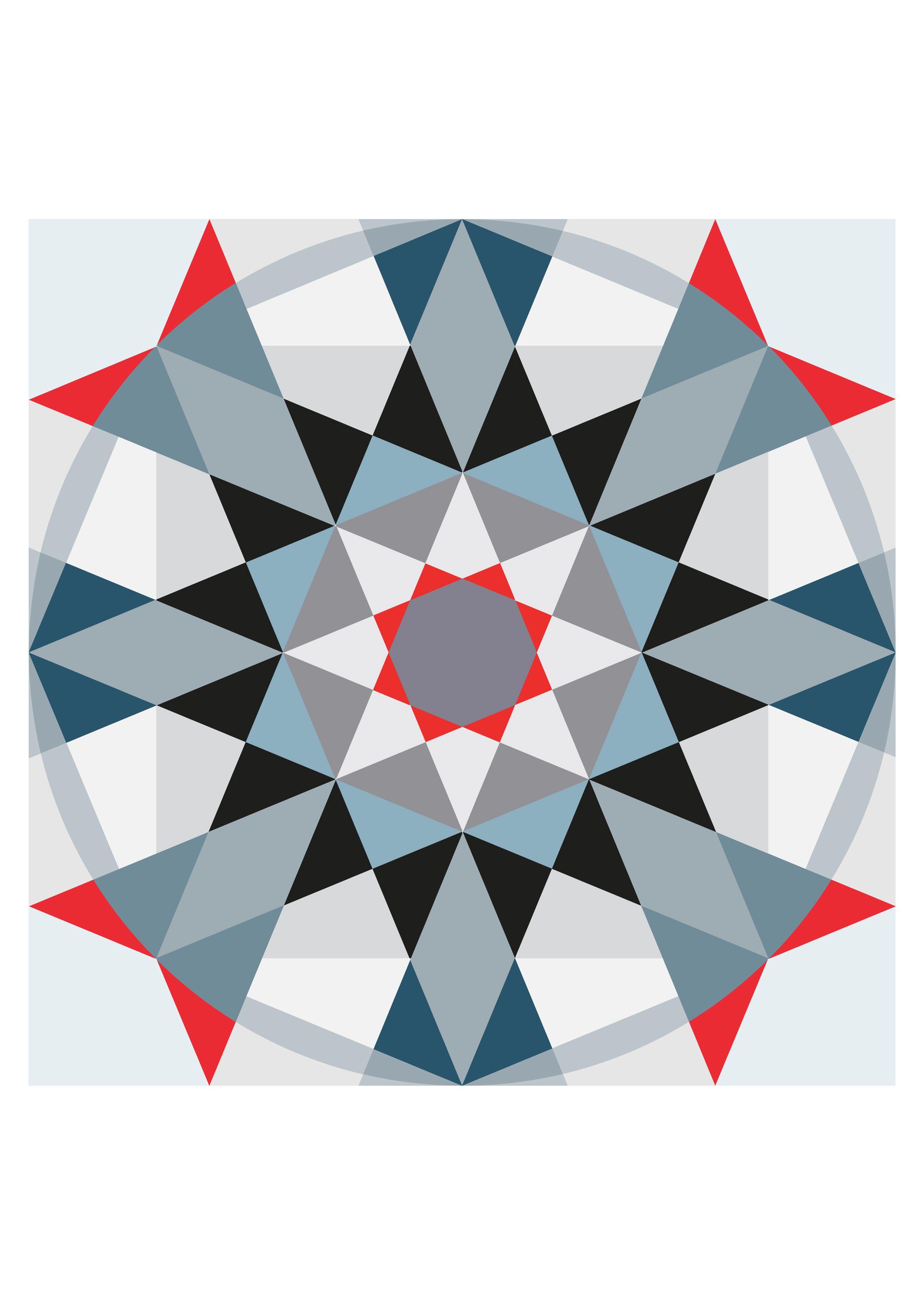 Dessin Geometrique Couleur Geometrie Pinterest Patterns