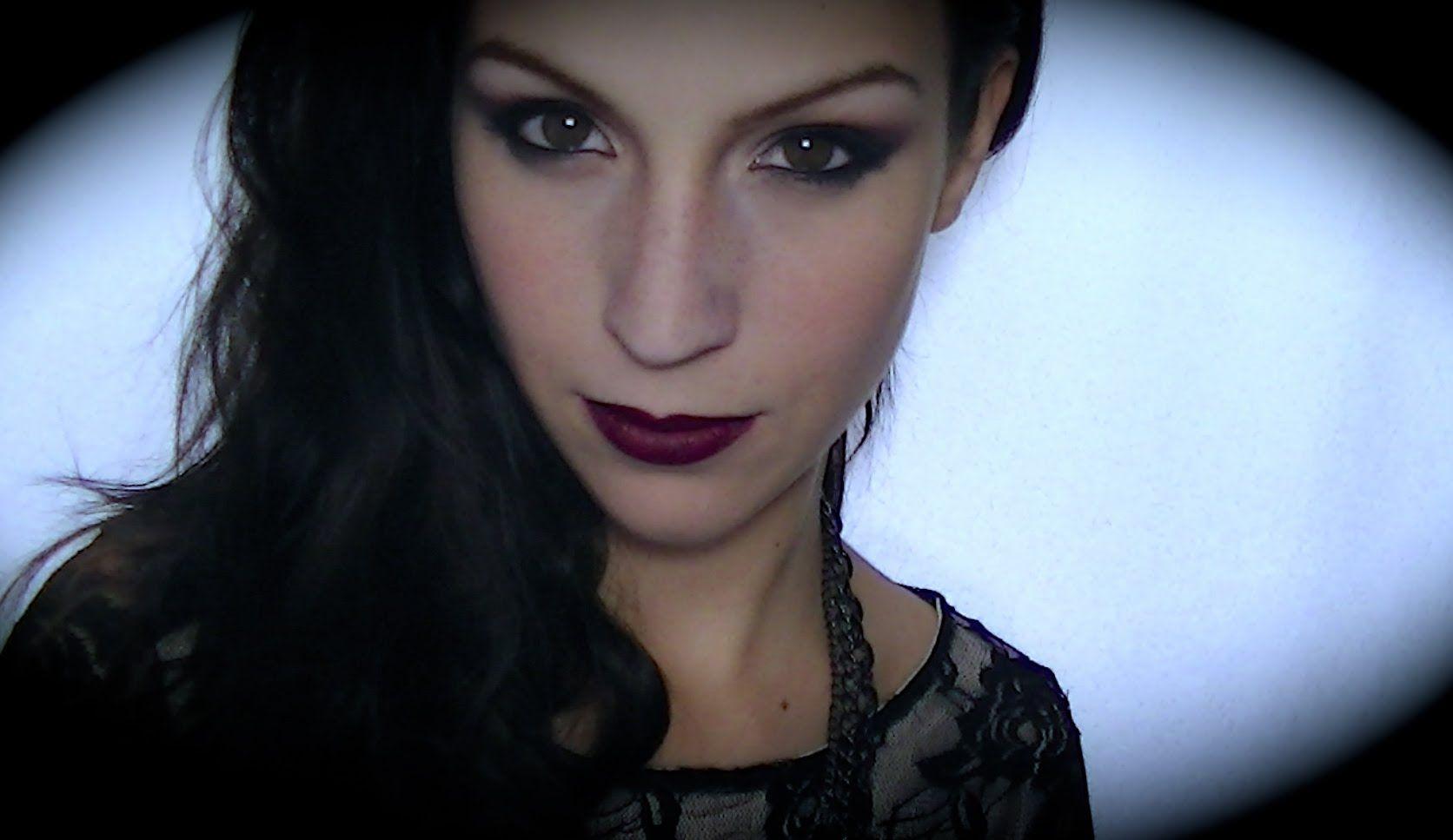 maquillage vampire elle