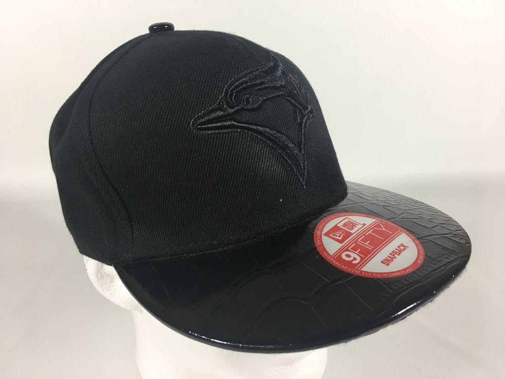 New Era 9 Fifty Toronto Blue Jays Hat Cap Blue Black NEW