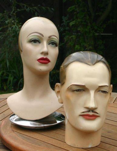 Image Result For Vintage Male Mannequin Head Mannequins Mannequin Art Vintage Mannequin