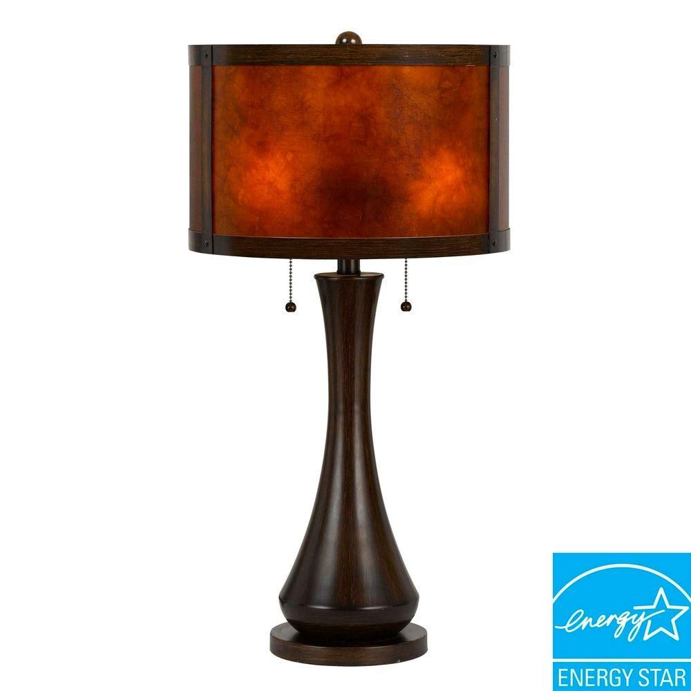 Table Lamps At Home Depot Simple Cal Lighting 2925 Inviejo Mica Table Lamp  Tables Lighting And Ps Inspiration Design