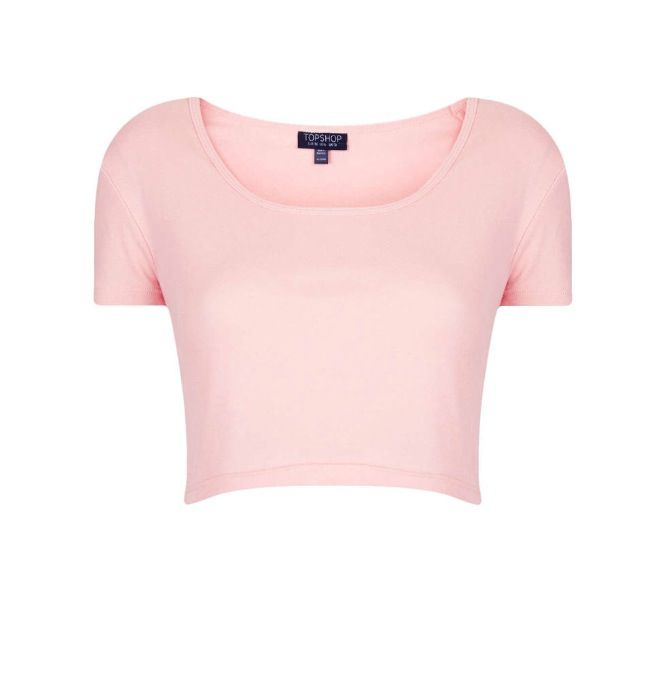 0c15d0f1b3b Pastel pink crop top | Clothes in 2019 | Pink tops, Pastel outfit ...