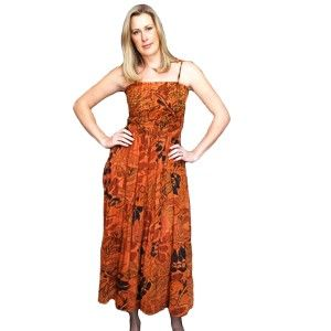 It is a high waist skirt with elastic, pleats and floral prints. It is sleeveless and comfortable and has pleasant color. You can either hand wash or machine wash. Hang the skirt to dry and avoid using bleach.