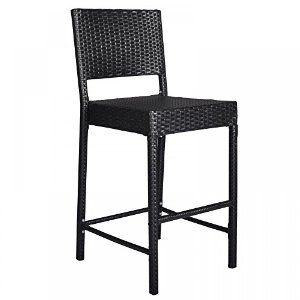 Amazon Com Zeny Set Of 4 Metal Bar Stools 26 Counter Height With