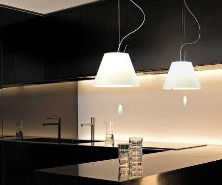 Moderne Lampen 90 : Stehlampe costanza luceplan l3 1d13lt010020 esstischlampe