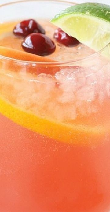 Holiday Party Punch #alcoholpunchrecipes