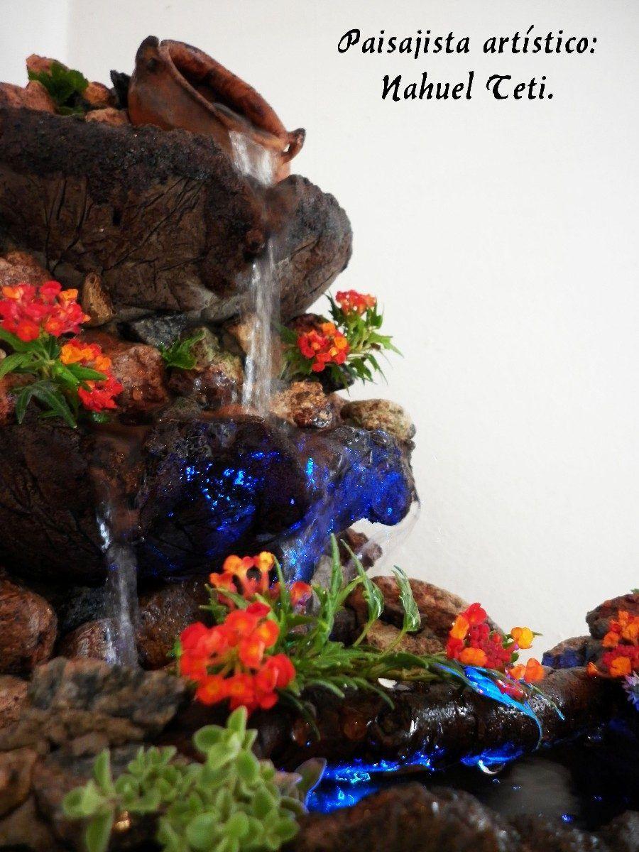 fuentes y cascadas de agua feng shui