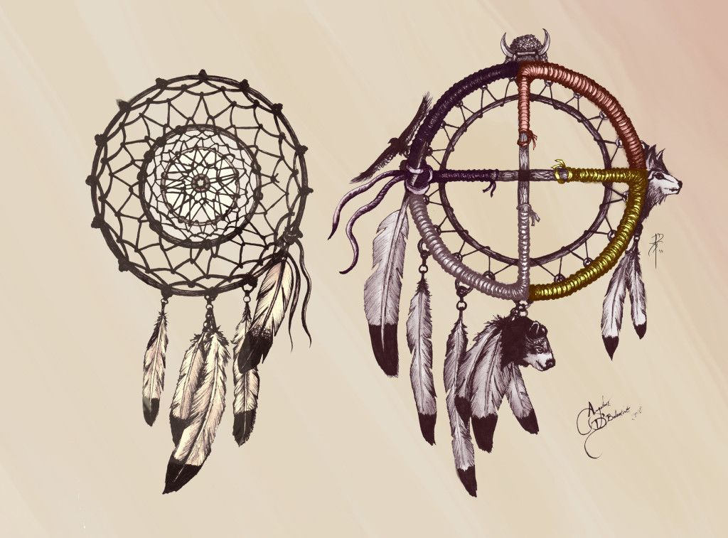 fa1e1c06d Native American Drawing, Native American Paintings, Wheel Tattoo, Graphite  Art, Dream Catcher