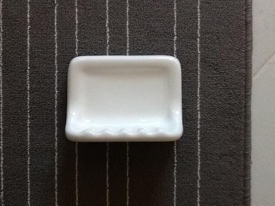 Daltile Bathroom Accessories White 4 3 4 In X 6 3 8 In Wall Mount Ceramic Soap Dish 0100ba7251p The Home Depot Daltile Ceramic Soap Dish Dish Soap