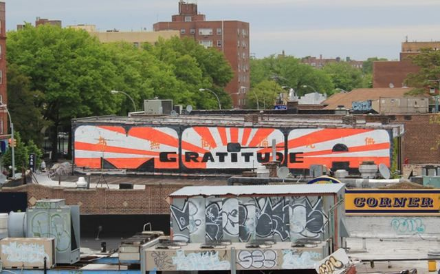 """""""A few days ago some street artists went to the Midwood section of Brooklyn—where Adam """"MCA"""" Yauch attended Edward R. Murrow High School—and created a mural for the late Beastie Boy"""""""
