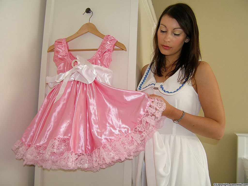 This is your party dress for tonight, sissy. I hope you ...