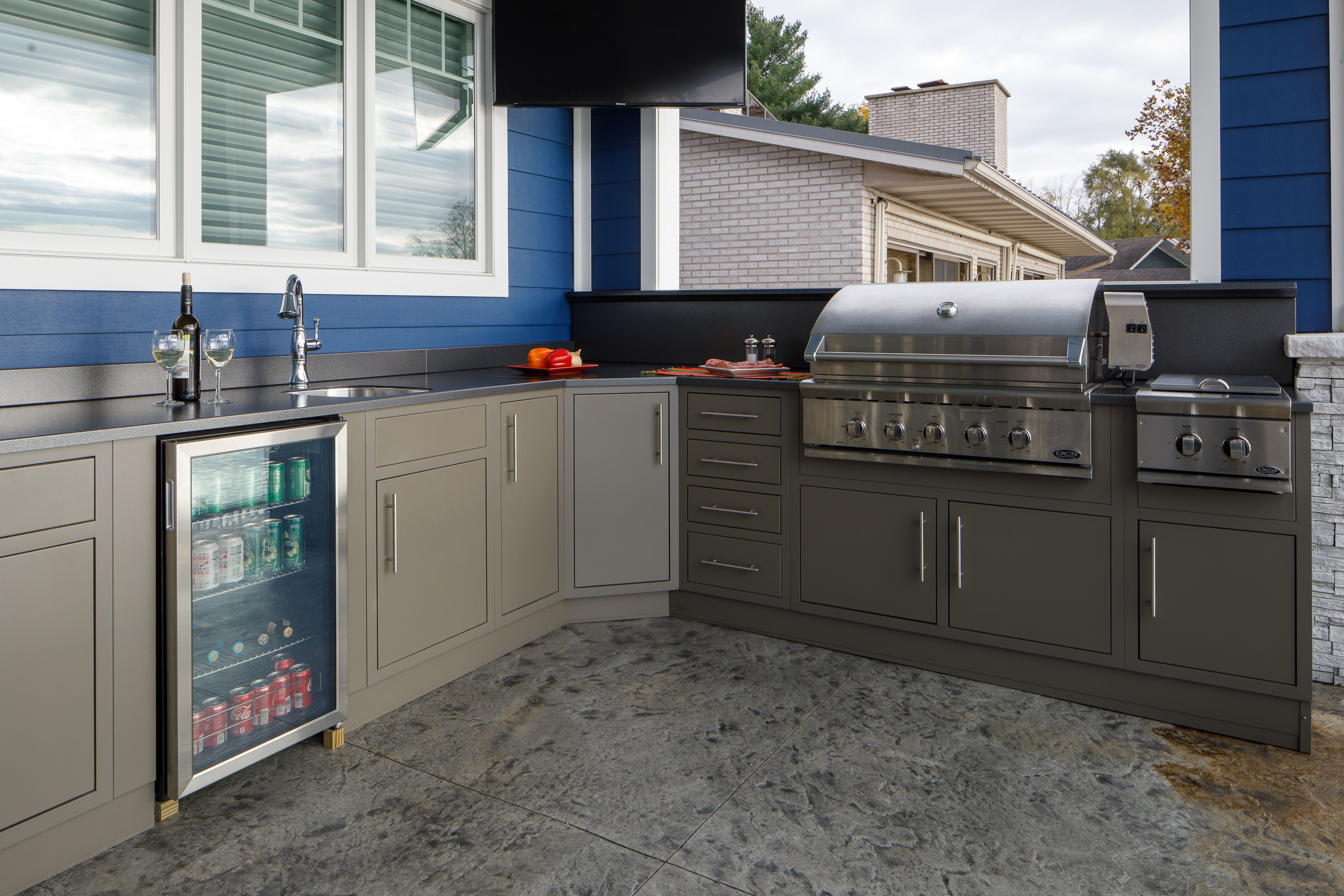 Pin On Outdoor Kitchens Entertainment By Challenger Designs