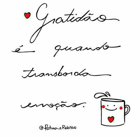 #Gratidão é quando <3 transborda de emoção