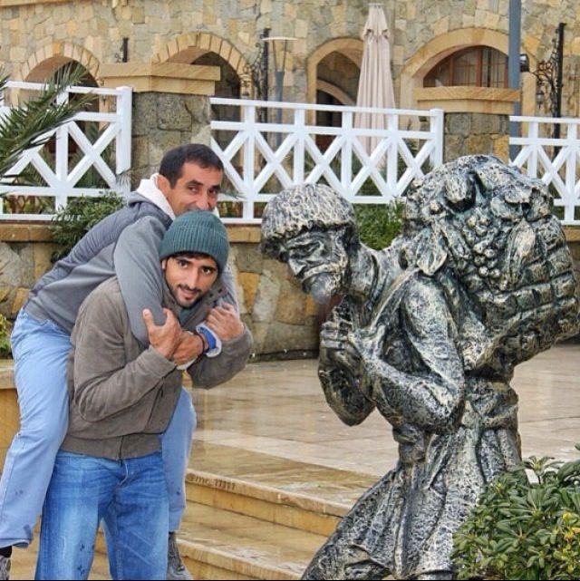 Hamdan and uncle Saeed