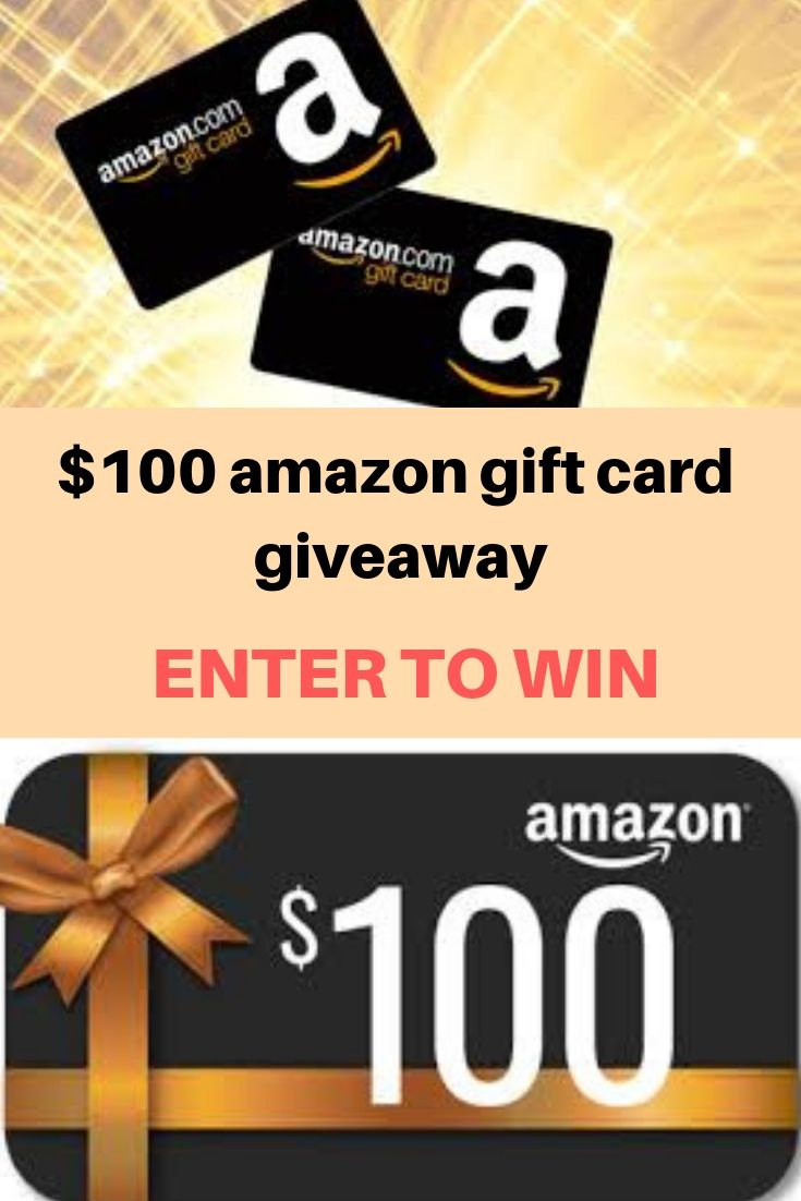win a 100 amazon gift card giveaway.It's a Fantastic