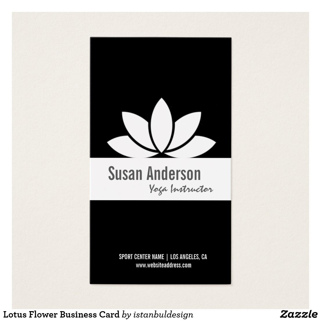 Lotus Flower Business Card | Business cards