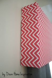 Renter Friendly, No Holes, No Damage $10 and 10 Minute DIY Window Valance #diycurtains