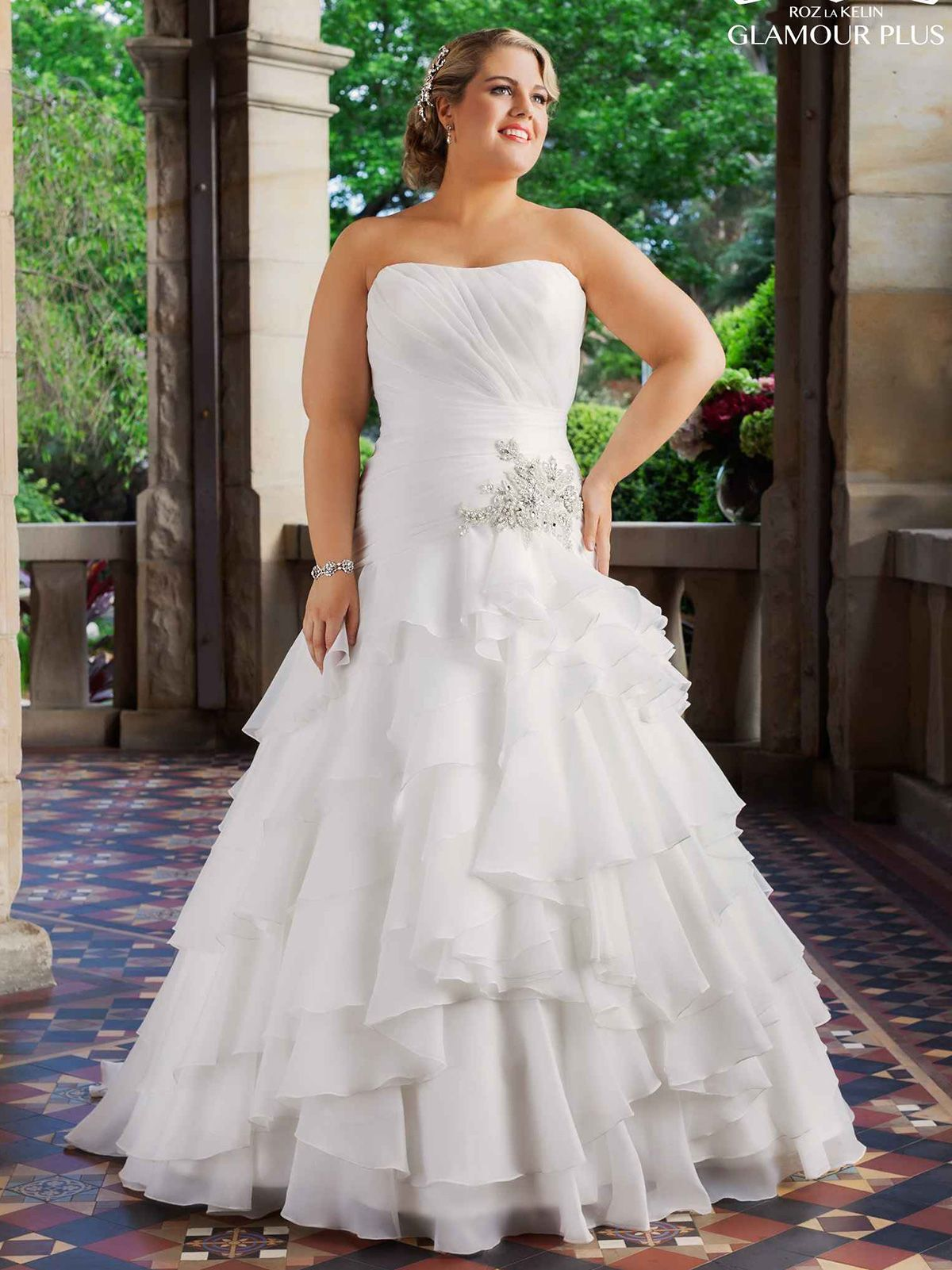 Rozlakelin bodice plus size bridal dress desiree dimitradesigns