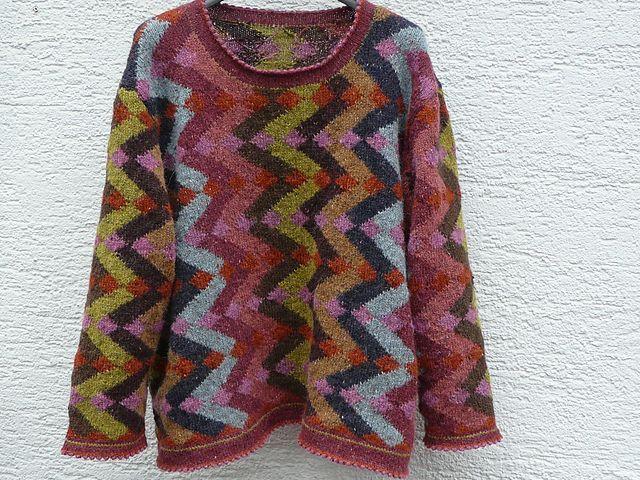 Tanja pattern by Kaffe Fassett | Stricken | Pinterest | Strickideen ...