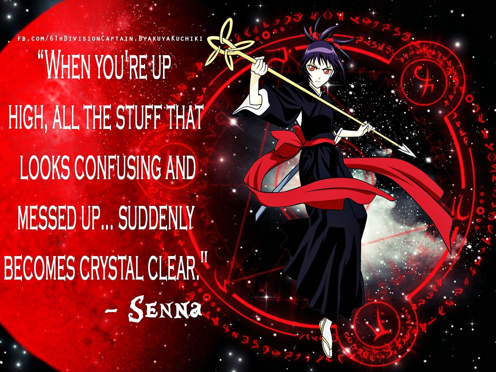 Senna Quote by ishi-kuchiki.deviantart.com on @deviantART