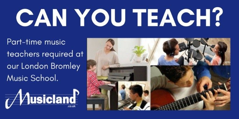 Can You Teach Part Time Music Teachers Required At Our London