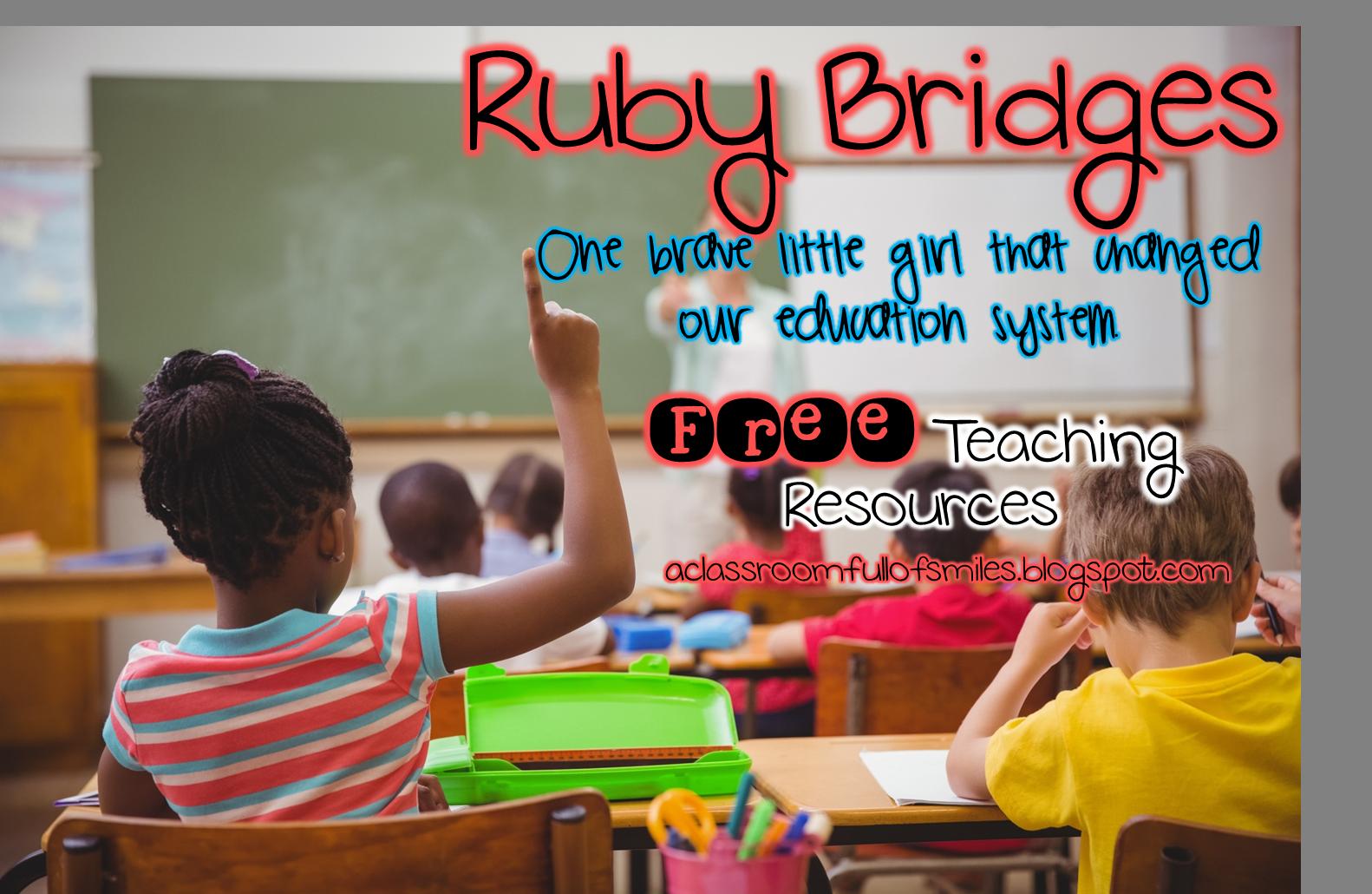 Free Teaching Ideas For Ruby Bridges