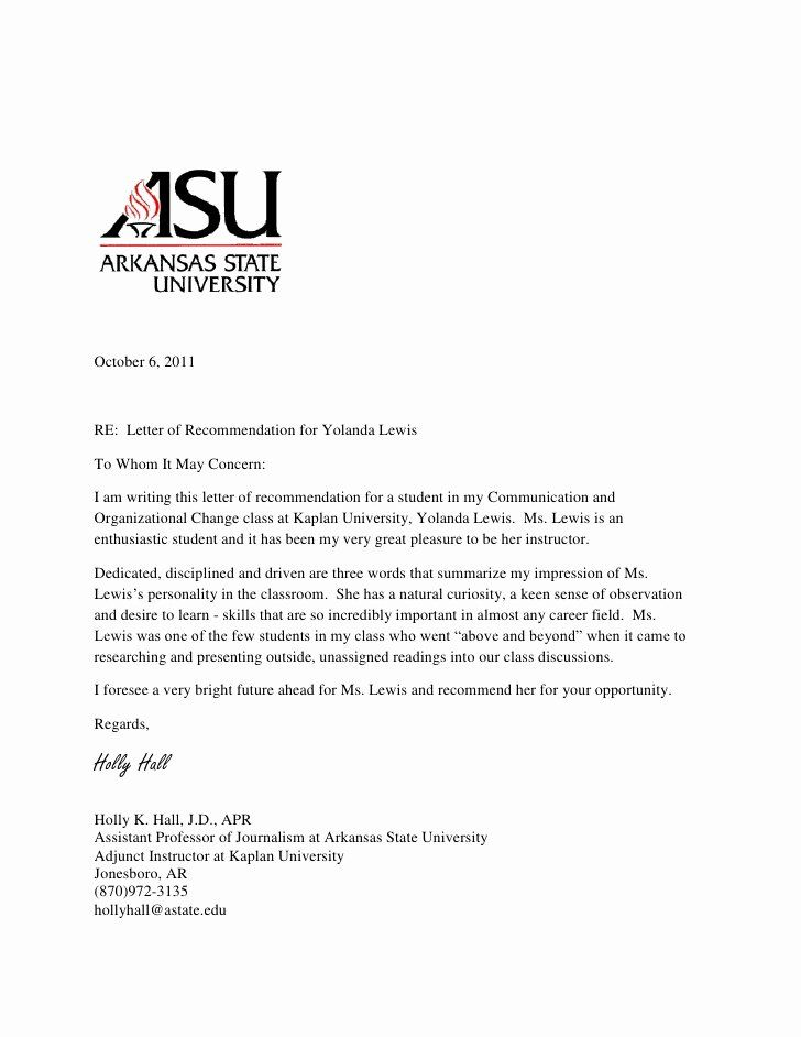 26++ Mba recommendation letter sample from professor trends