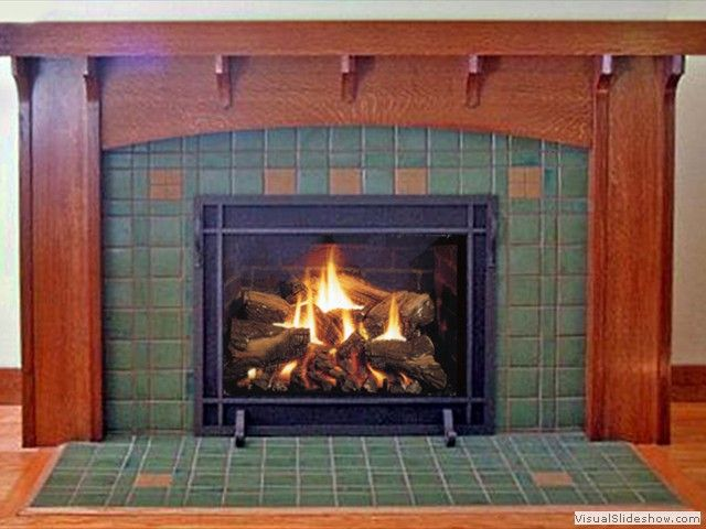 Craftsman Style Fireplace Mantels North Bay Fireplace Custom