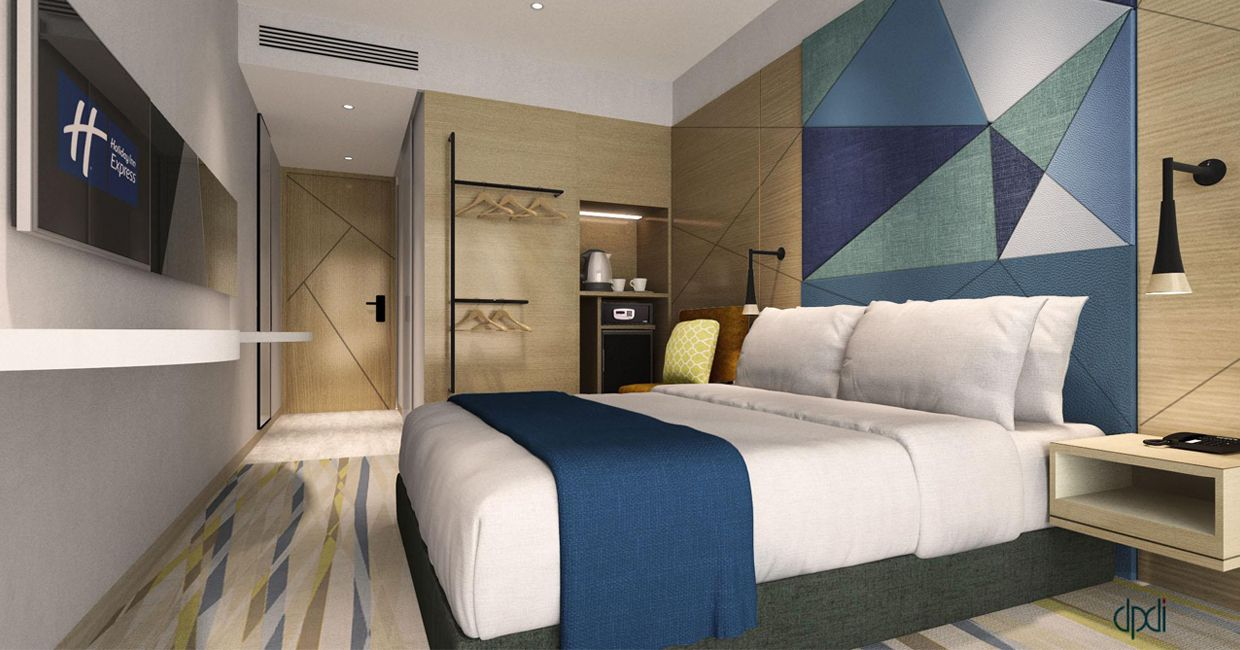 Located Within The Emerging Hip And Creative Area Jalan Besar Holiday Inn Express Singapore Serangoon Will Be The Lates Hotel Interiors New Property Interior