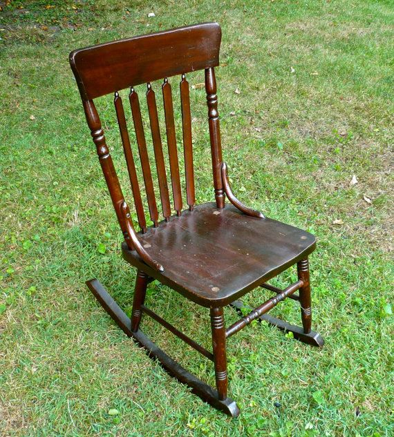 Ford Johnson Rocking Chair By Casakarmadecor On Etsy   Pinterest Rocking Chairs Vintage Rocking Chair And Large Chair