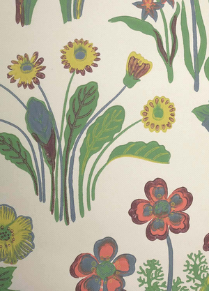 Josef Frank Vårklockor wallpaper no A6181 Wallpaper