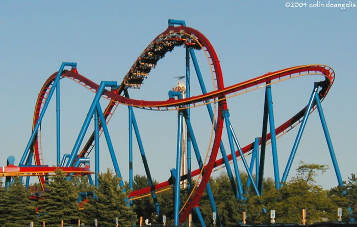 Superman Ultimate Flight Photo From Six Flags Great America Best Amusement Parks Six Flags Great Adventure Great America