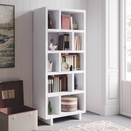 Better Homes Gardens Steele Open Tower Bookcase Multiple Finishes Walmart Com Home Home Interior Design Bookcase
