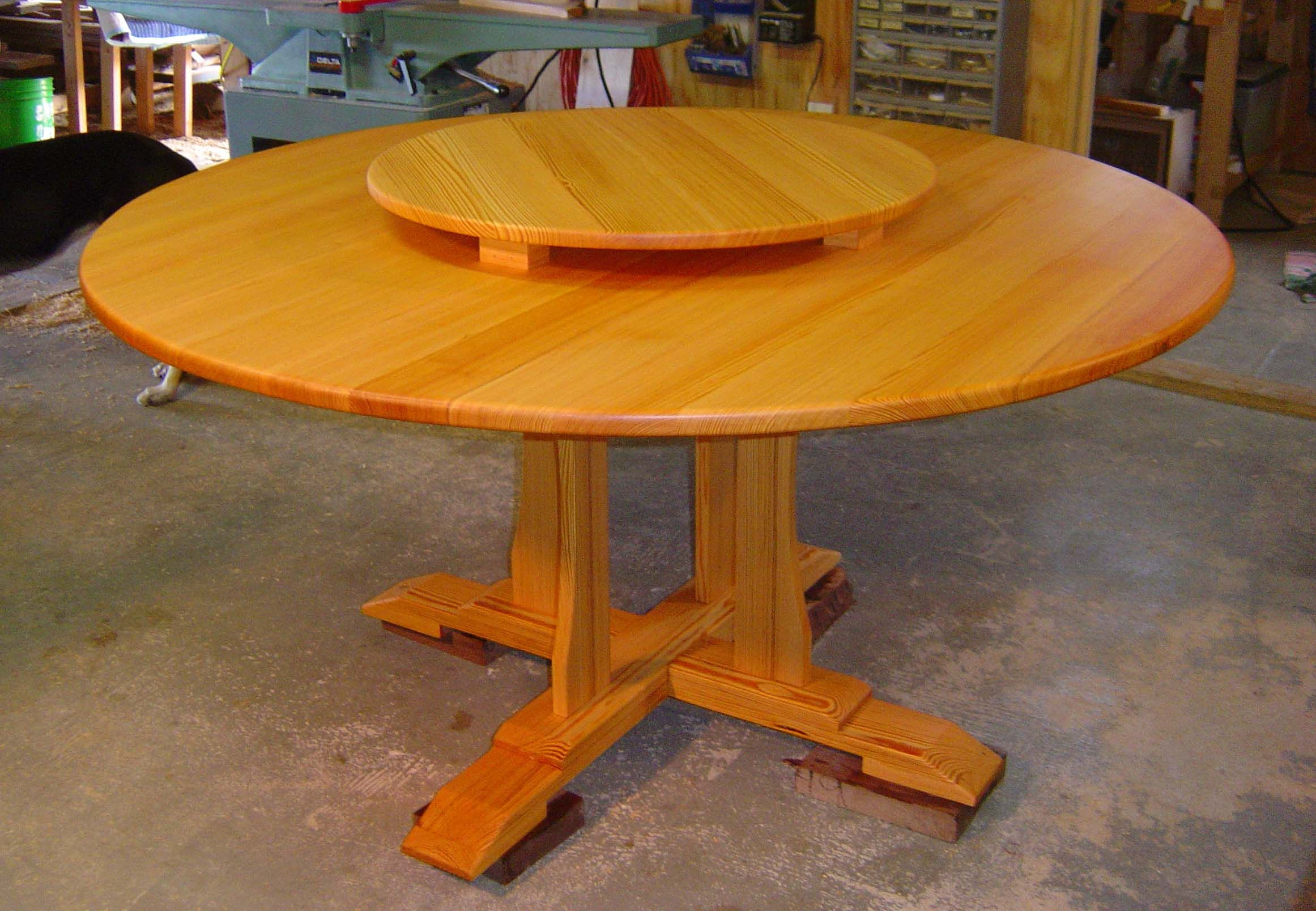 A Lazy Susan Table, I Have Always Wanted One Of These!