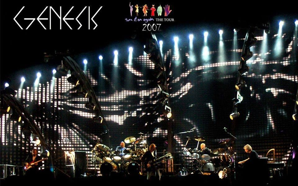 2007 turn it on again tour in 2020 genesis family logo