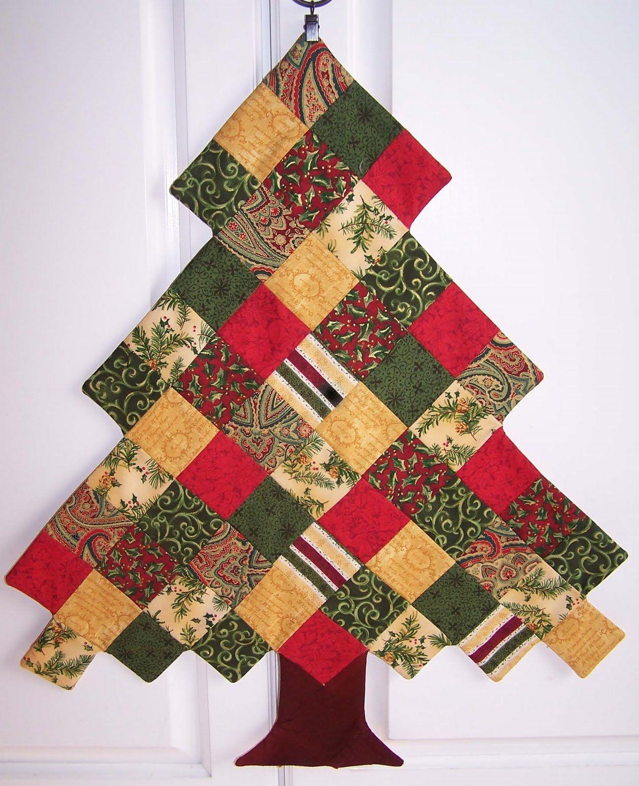 Emma S Tree Christmas Tree Quilt Fabric Christmas Trees Christmas Patchwork