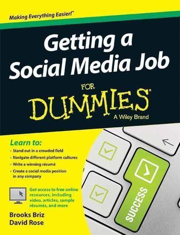 Getting A Social Media Job For Dummies  Social Media Money News