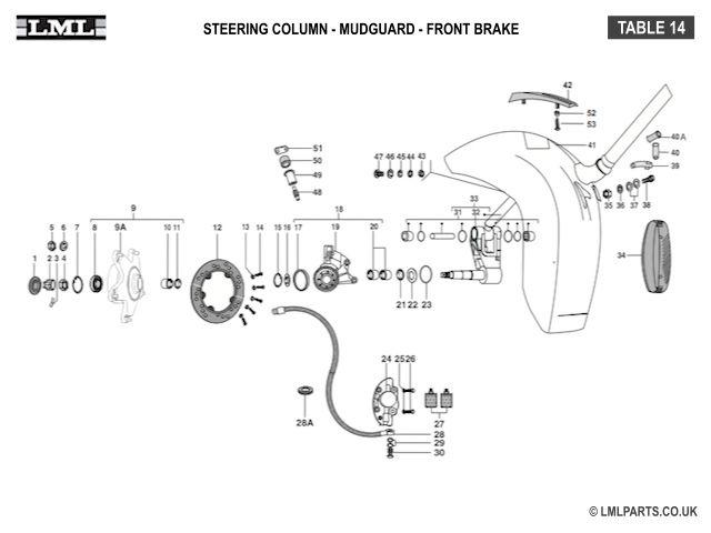 Vespa lml wiring diagram diagrams image free