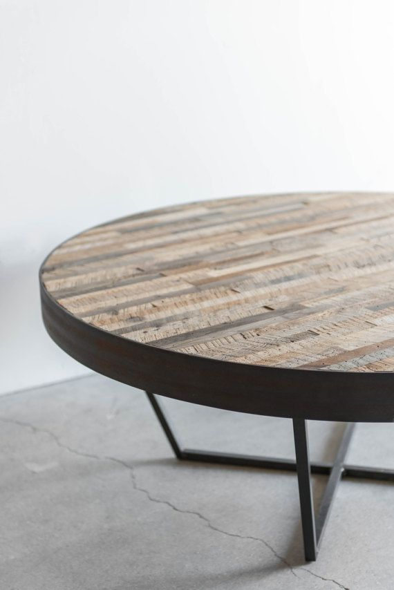 This Is A Reclaimed Wood Coffee Table Made With Salvaged Hardwood Recycled From A Whiskey Distillery In Coffee