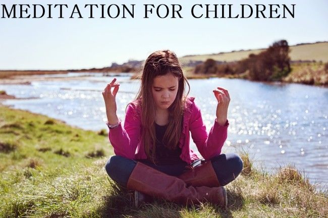 Buddhist Meditation for Children | How to teach children meditation