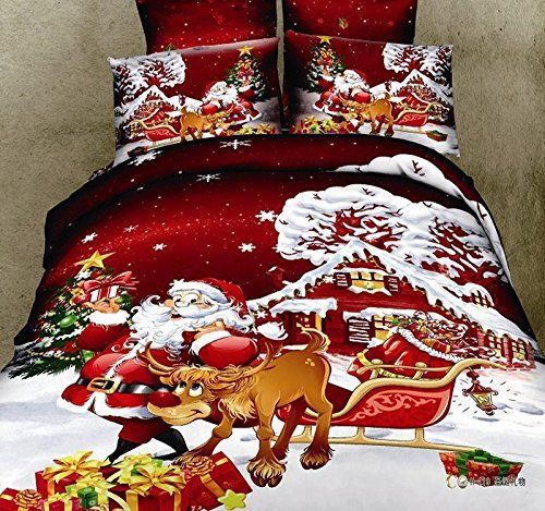 Bedding Set, Queen Size Holiday Bedding