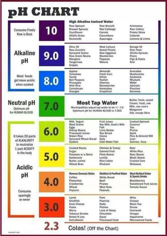 Ph Chart  Medical Nursing    Ph Interstitial Cystitis