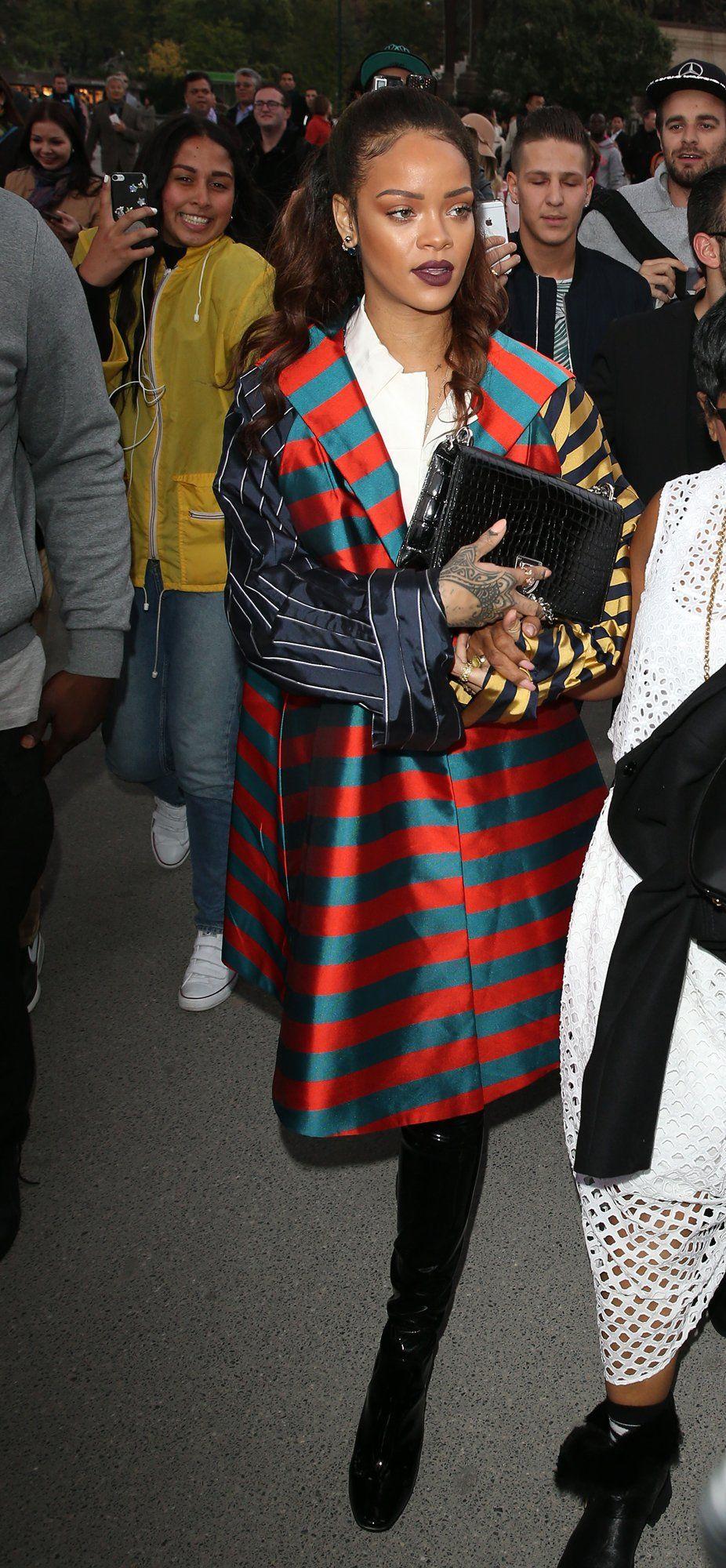 7b7c4b6f0 Rihanna's 19 Best Paris Fashion Week Looks of All Time | riri ...