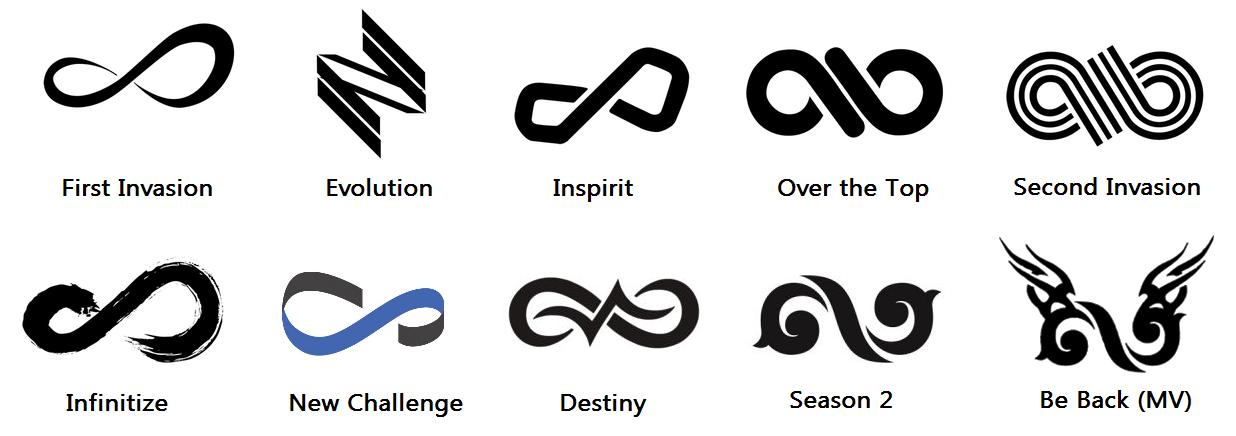 resultado de imagem para infinite logo logos kpop