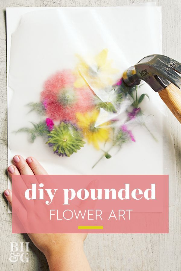 This Simple DIY Turns Fresh Flowers into art