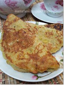 Mamafami S Spice N Splendour Lempeng Pisang Kelapa Recipes Coconut Pancakes Cooking Recipes