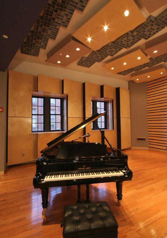 Music Studio Room Design: FM Design Institutional Portfolio