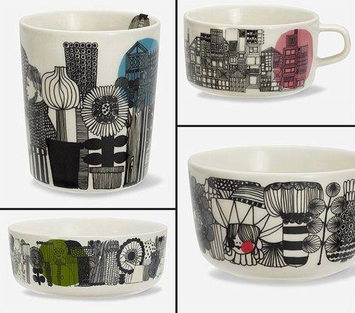 Tableware by Marimekko