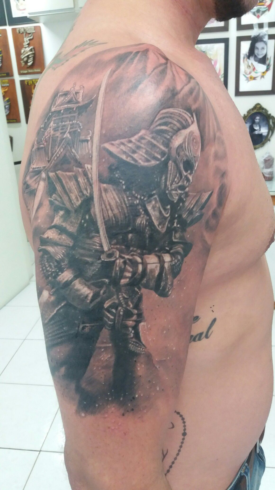 Samurai tattoo by buzuca