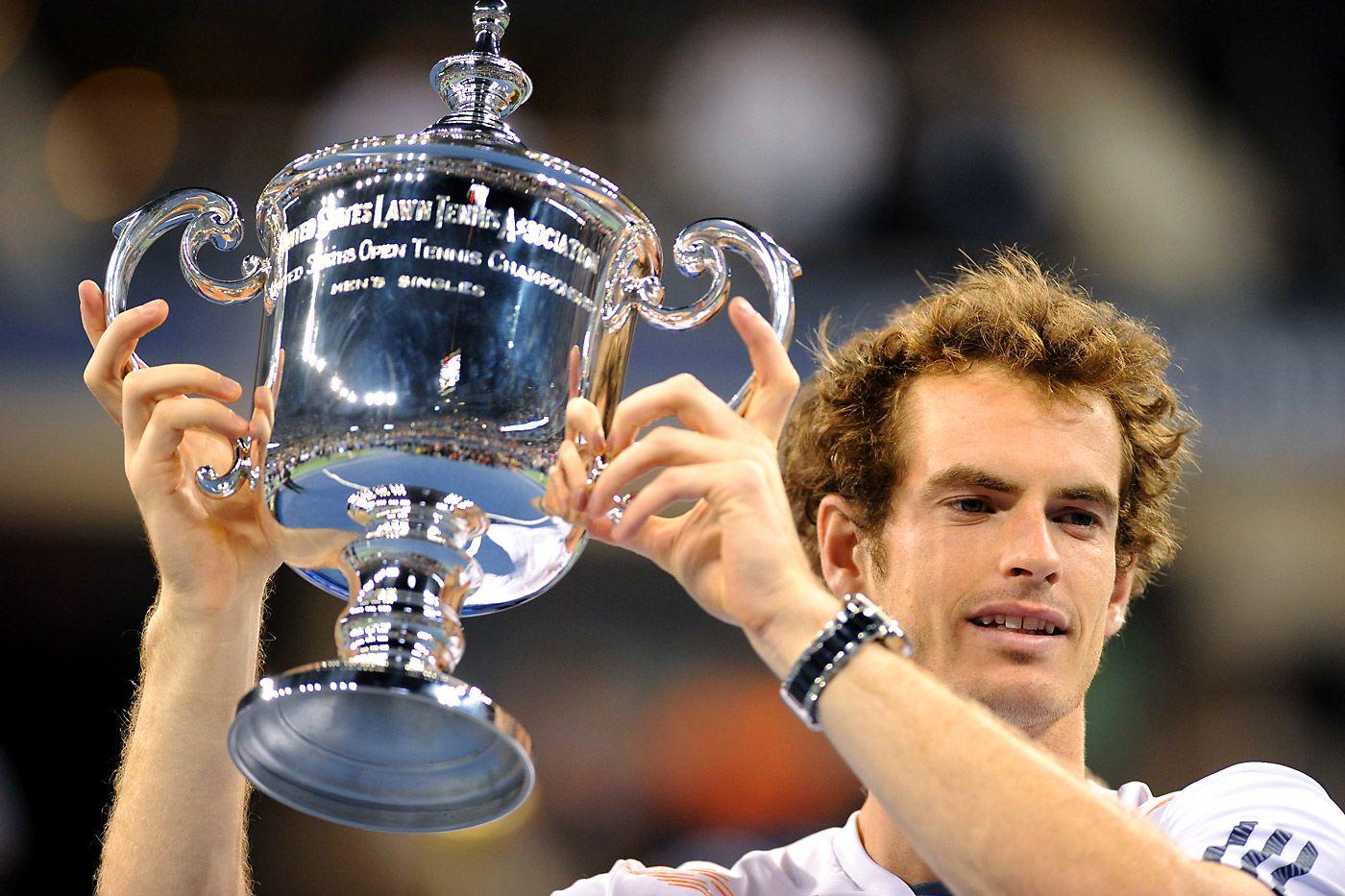 2012 US Open Men's Singles Champion Andy Murray. - Rob Loud/USTA